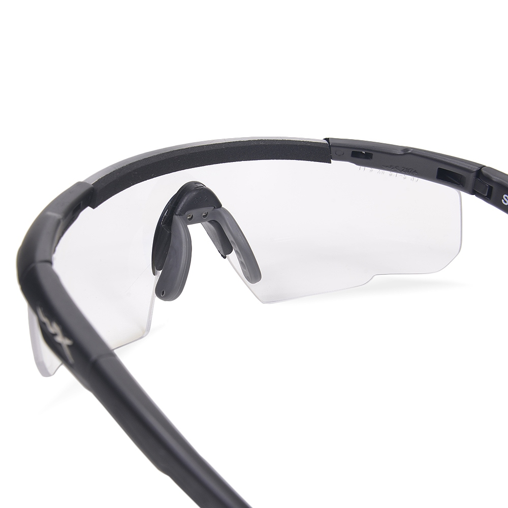 e37e1e51a91e ... Wiley X shooting glasses Saber 300 clear SABER300 | Men's sports UV cut  UV cut sunglasses ...