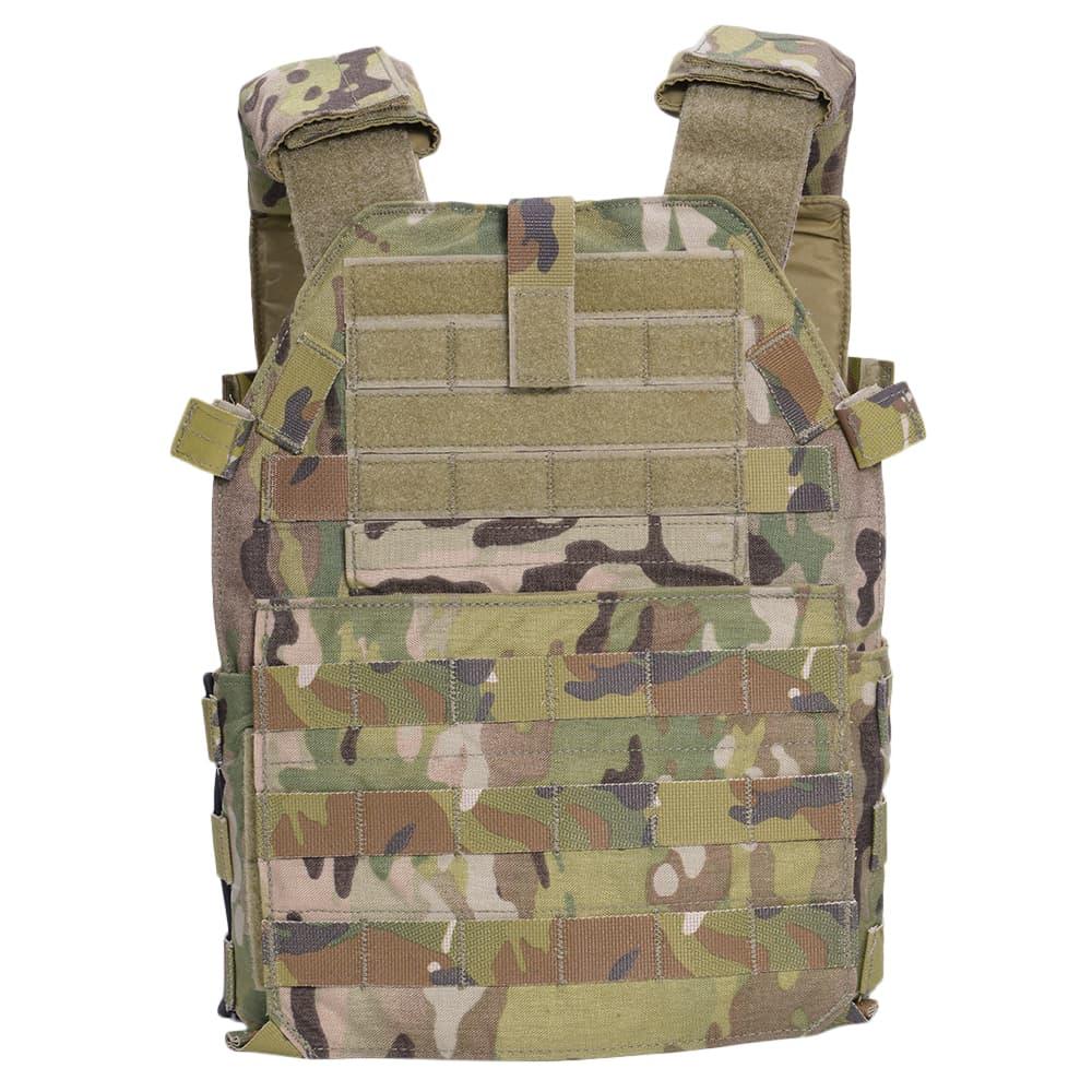 LBX Tactical モジュラー プレートキャリア LBX-0300 スモール [ マルチカム ] LBXタクティカル アーマー サバゲ―ウェア サバゲ―装備 MOLLE対応