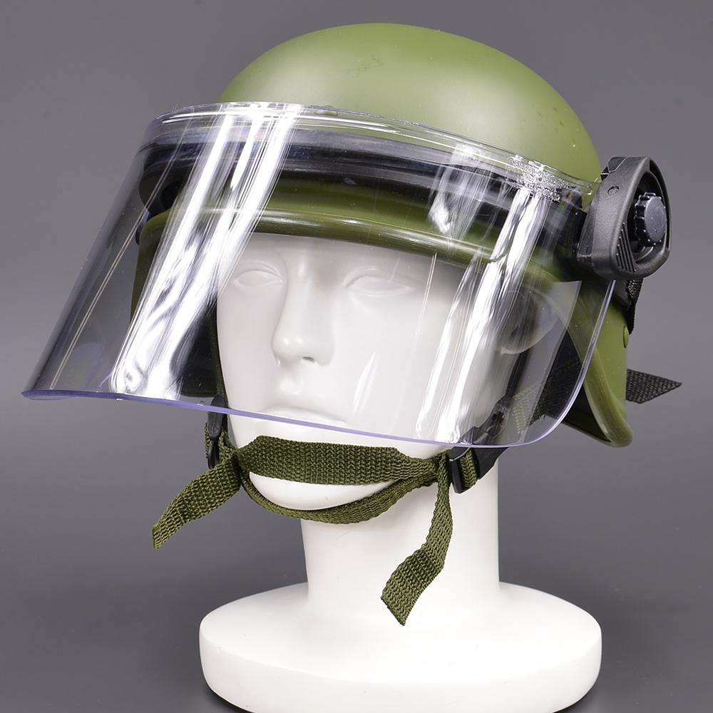 ポールソン ライオットフェイスシールド DK5-H ショート PASGT対応 ヘルメット用パーツ フェイスガード