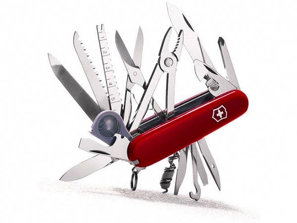 VICTORINOX アーミーナイフ スイスチャンプ | Victorinox ツールナイフ マルチツール 十徳ナイフ キャンピングナイフ 万能ナイフ