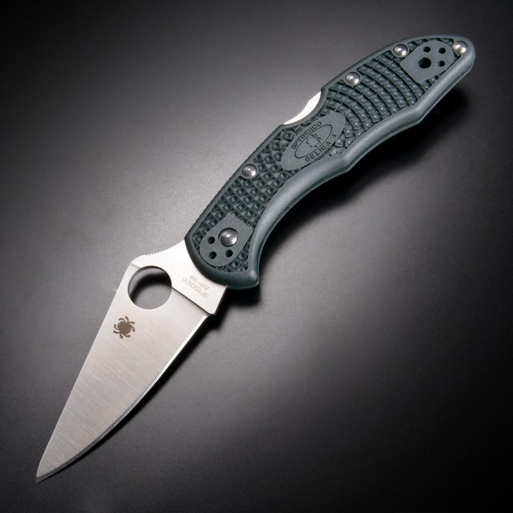 Spyderco デリカ4 C11PGRE 折りたたみナイフ ZDP-189鋼 スパイダルコ 折り畳みナイフ フォルダー フォールディングナイフ ホールディングナイフ