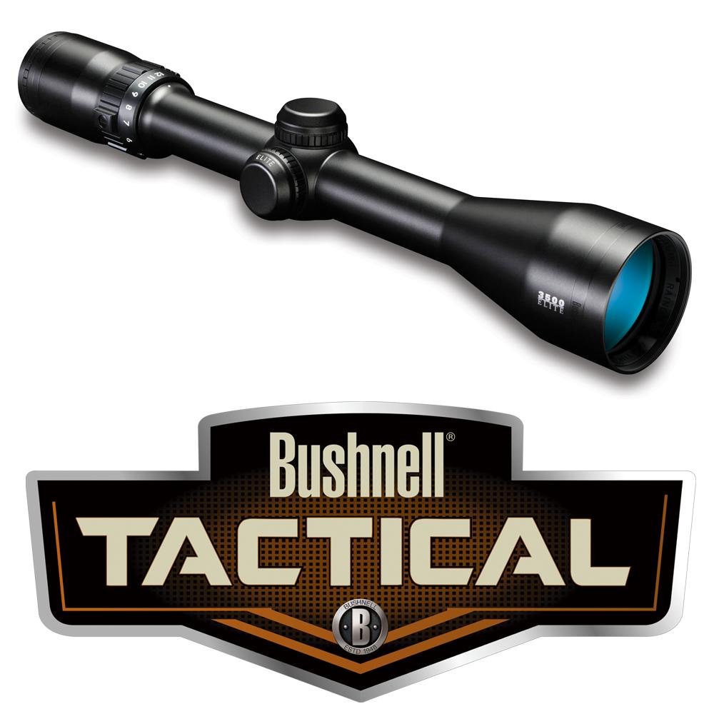ブッシュネル スコープ Elite 3500 4-12×40mm 354124B Bushnell ライフルスコープ エリート3500 完全防水 ウォータープルーフ 防雲 アンチショック
