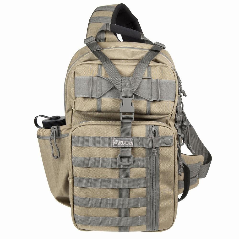 MAXPEDITION スリングバッグ Kodiak Gearslinger [ カーキ&フォリアージュ ] 斜めかけ ワンショルダー デイパック カバン かばん 鞄 ミリタリー ミリタリーグッズ サバゲー装備