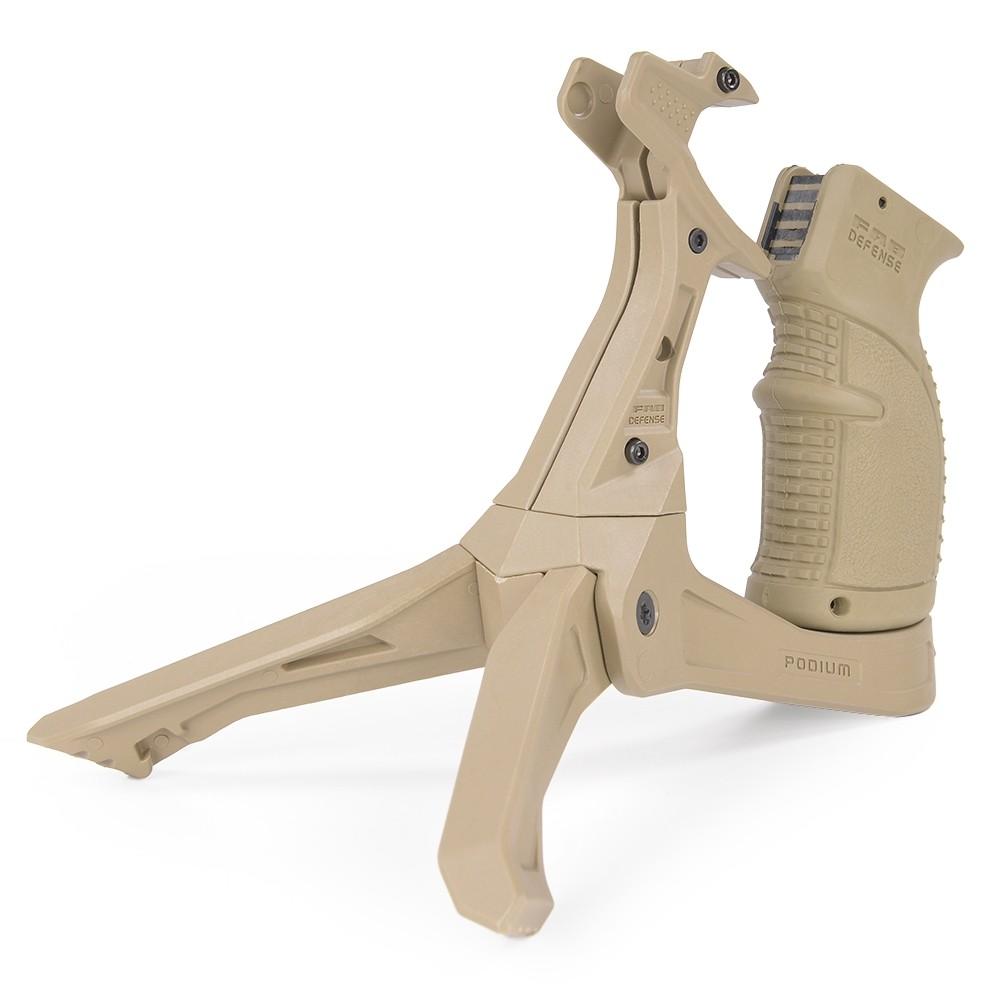 FABディフェンス 実物 グリップバイポッド AK-Podium [ フラットダークアース ] バーティカルグリップ ガングリップ トイガンパーツ サバゲー用品