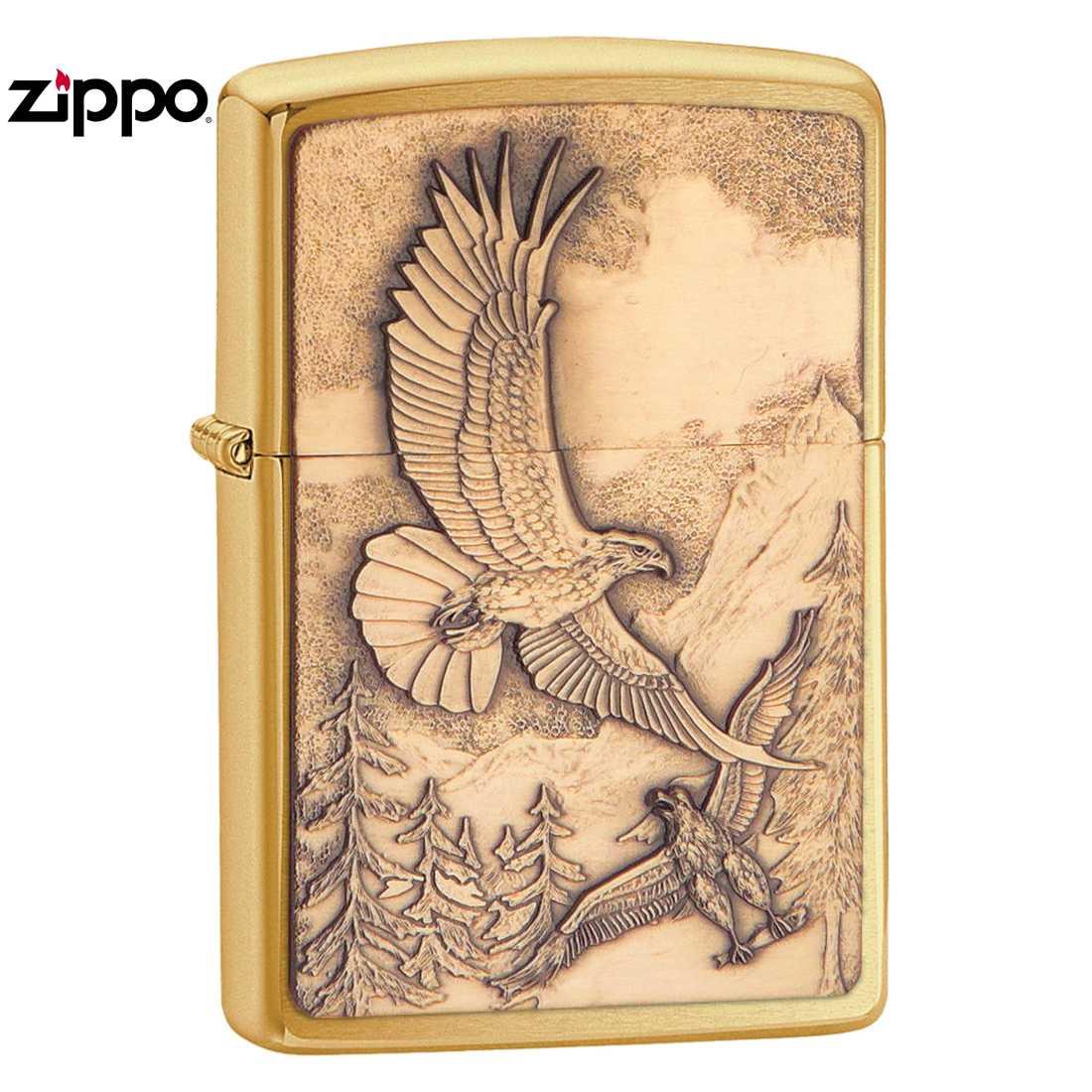 20854 ZIPPO Where Eagles Dare hawk Zippo oil writer toys, hobby game hobby,  collection smoking paraphernalia (Zippo pipe, ashtray) Zippo (ZIPPO)