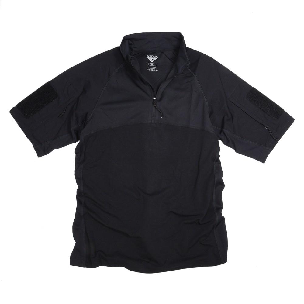 CONDOR 半袖 コンバットシャツ 101144 [ ブラック / Sサイズ ] コンドルアウトドア メンズTシャツ 半そで プリント デザイン スポーツ ミリタリーTシャツ ミリタリーシャツ