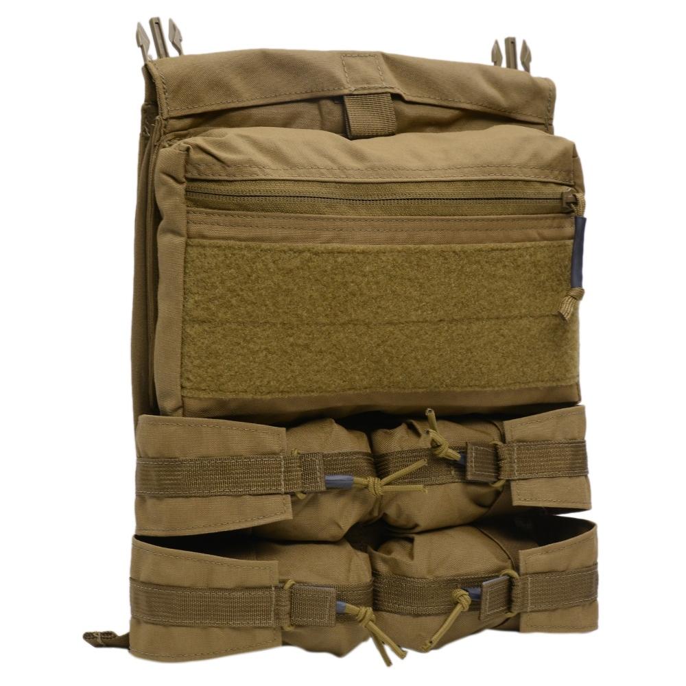 LBX tactical バンガーバックパネル プレートキャリア用パーツ Armatus ll対応 [ コヨーテブラウン ] エルビーエックス ベルクロ サバゲー装備 装備品 ミリタリー