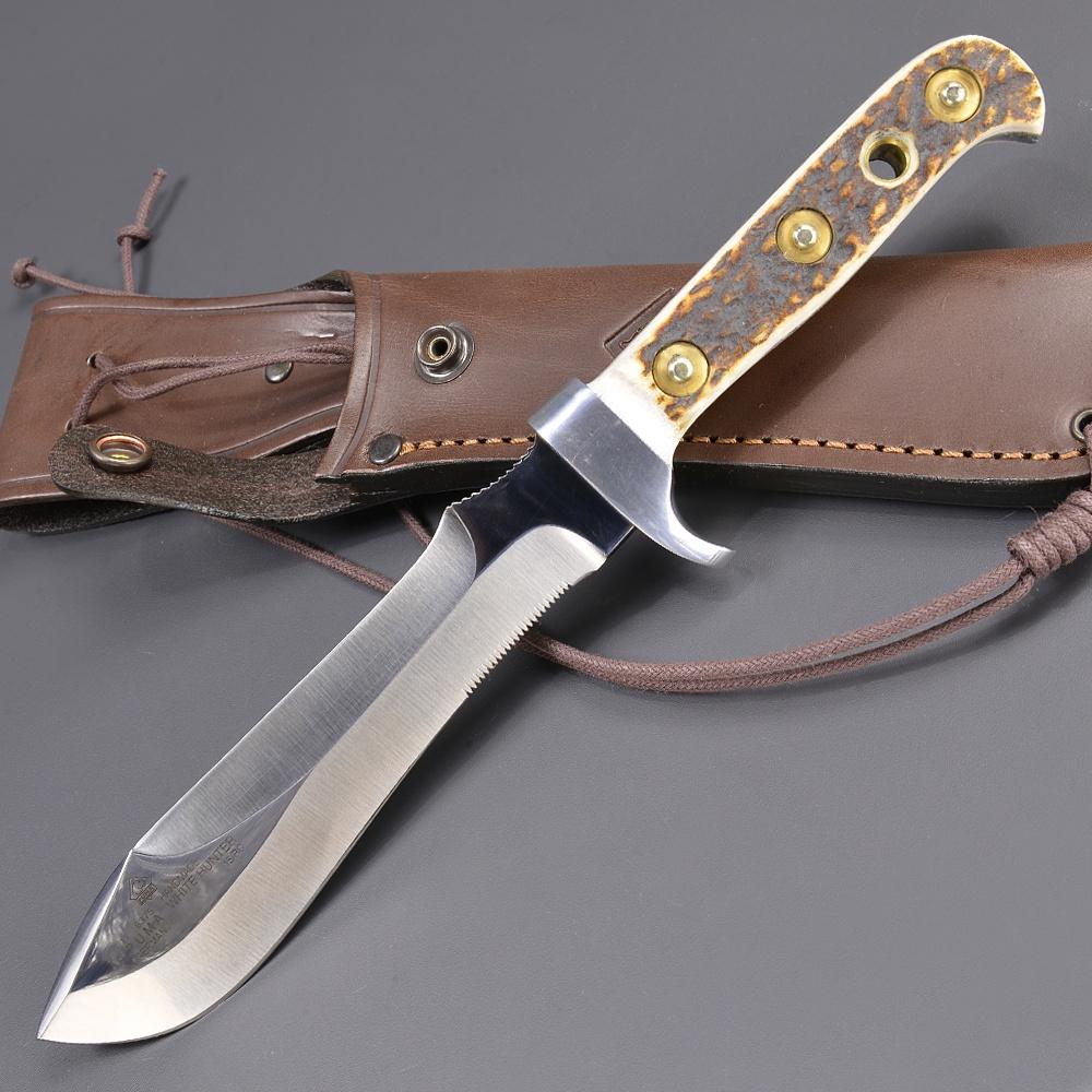 PUMA ハンティングナイフ 116375 ホワイトハンター ドイツ製 | ピューマ プーマ ハンティングスキナー 狩猟 解体用 スキニングサバイバルシース