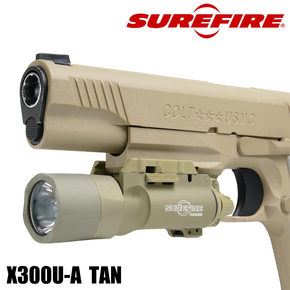 SUREFIRE ウェポンライト X300ウルトラ LED シュアファイア タクティカルライト レーザーライト ピストルライト