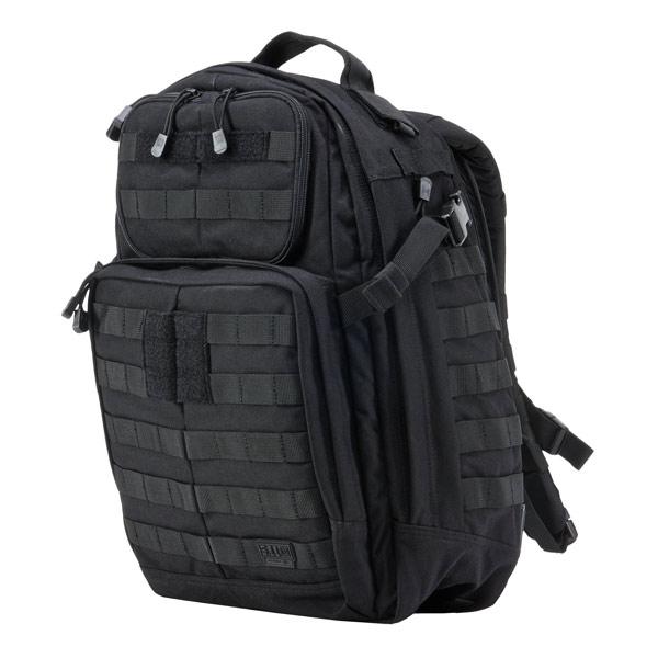 5.11タクティカル ラッシュ24 バックパック 58601 [ ブラック ] 5.11Tactical ダークアース RUSH24 | 511 リュックサック ナップザック デイパック カバン かばん 鞄 ミリタリー ミリタリーグッズ サバゲー装備