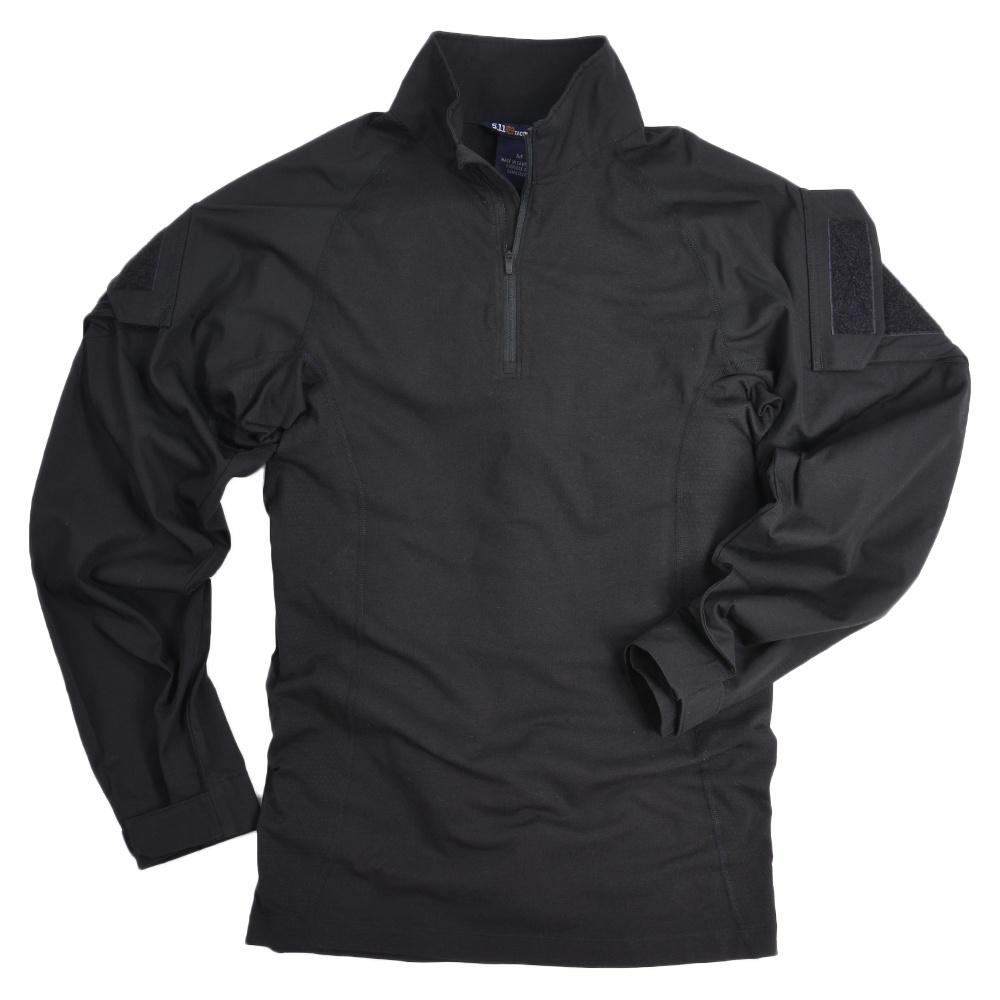 2つの異なる生地を使用した動きやすいアサルトシャツ 5.11Tactical 長そでシャツ ラピットアサルト 72194 ブラック Mサイズ 5.11タクティカル 511 着後レビューで 送料無料 ミリタリーシャツ TDUシャツ ファクトリーアウトレット バトルシャツ アサルトシャツ BDU 戦闘服 長袖シャツ ロングTシャツ コンバットシャツ アーミーシャツ