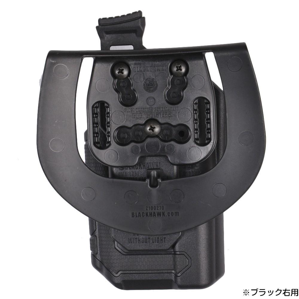 ブラックホーク OMNIVORE マルチフィット・ホルスター SF X300 X300U A対応アーバングレー右用vymPN80wOn