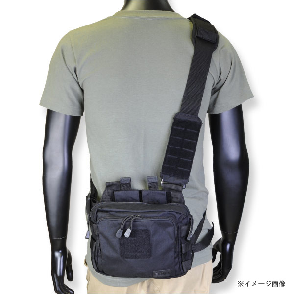 5 11 Tactical Shoulder Bag 2 Banger Black Mens 56180 019 Messenger Satchel Casual Military Canvas Also