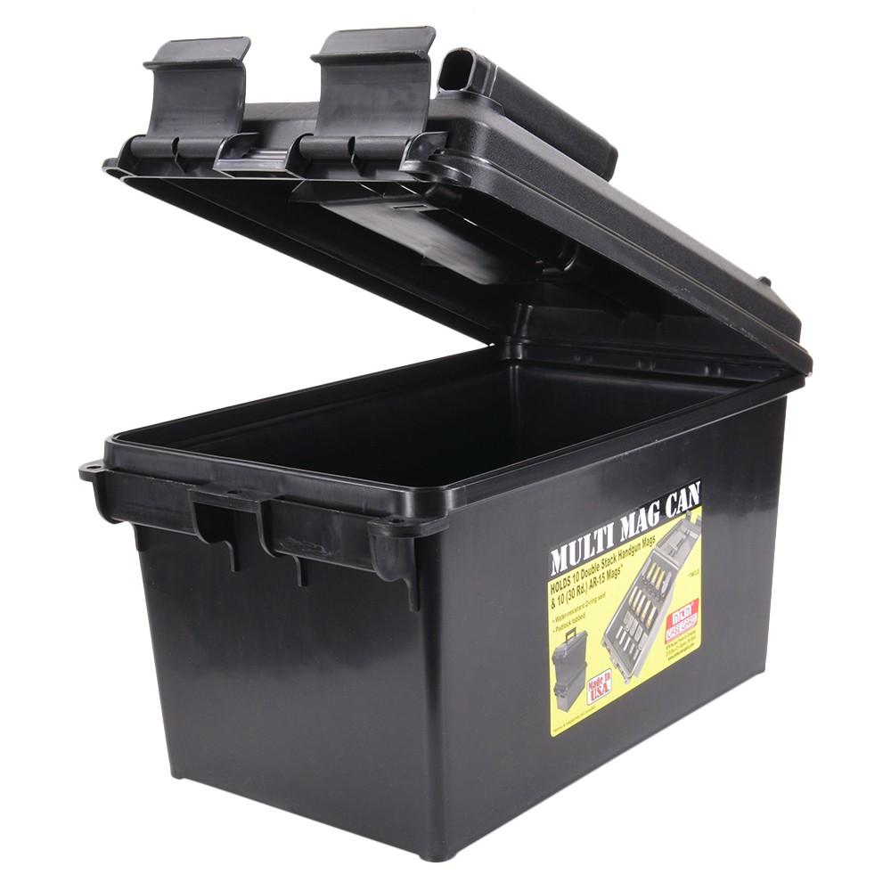 MTM 樹脂製 マガジンボックス M4マグ ピストルマグ 各10本収納可能 MTMケースガード マガジンケース アモカン アモボックス AR15 弾薬ケース 弾薬箱
