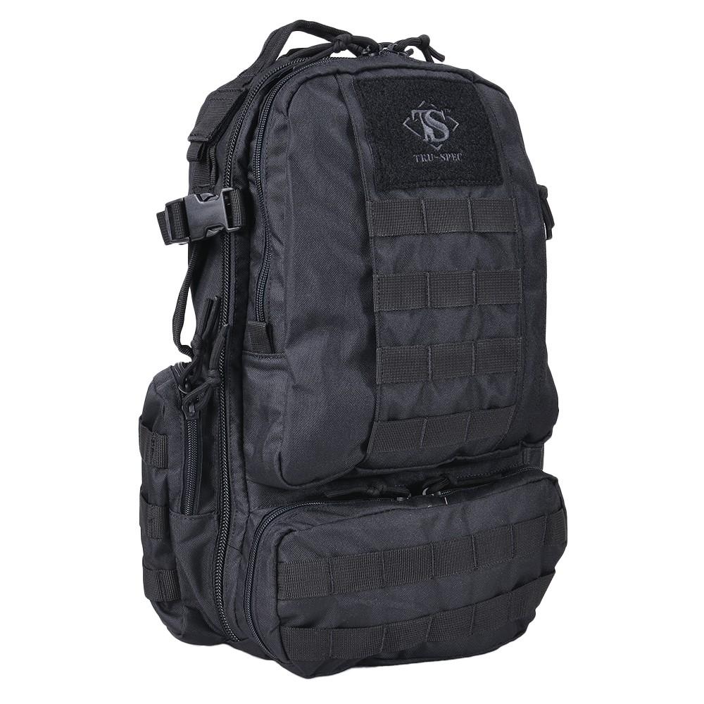 TRU-SPEC バックパック CIRCADIAN [ ブラック ] TRUSPEC トゥルースペック リュックサック ナップザック デイパック カバン かばん 鞄 ミリタリー ミリタリーグッズ サバゲー装備