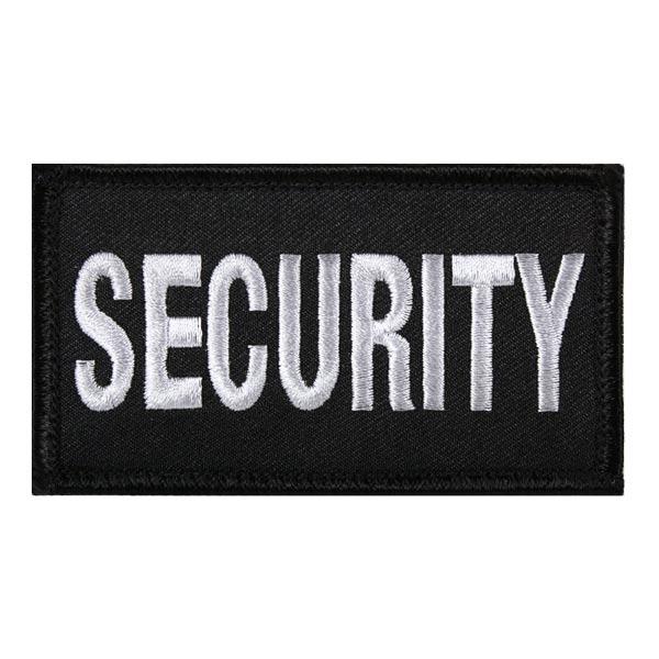ロスコ社製アメリカ SECURITY セキュリティー のワッペン パッチ ですパッチの裏にはベルクロのオスが縫い付けられており ベルクロのメスが付いた装備などに貼り付けることができます Rothco ミリタリーワッペン 17785 ベルクロ ミリタリーパッチ ご注文で当日配送 アップリケ 胸章 LE装備 階級章 警察パッチ スリーブバッジ ポリスワッペン 時間指定不可 徽章 記章 肩章 ポリスパッチ 襟章 警察ワッペン