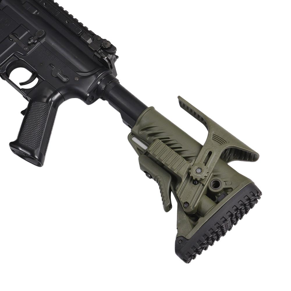 FABディフェンス 実物 レイル&チークレスト付属 AR15/M4用対応 [ オリーブドラブ ]