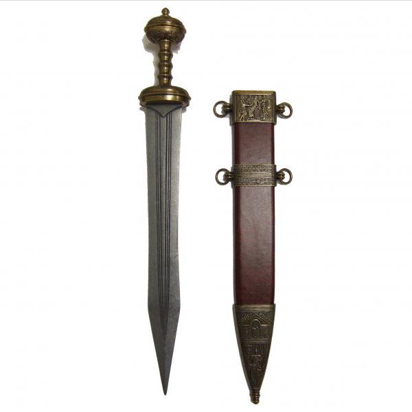 DENIX シーザースオード 4116 グラディウス 模造刀 [ ゴールド ] デニックス gladius レプリカ トレーナー 模造ナイフ 樹脂ナイフ 練習用 CQC CQB gold