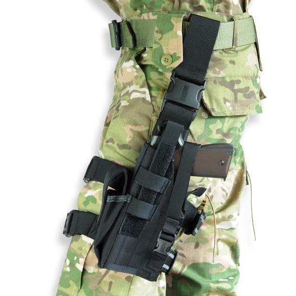 ブラックホーク レッグホルスター COLTガバメント オメガIV [ 左利き ] Blackhawk COLT45 40QD22BKL コルト45 | サイホルスター BHI ドロップレッグホルスター