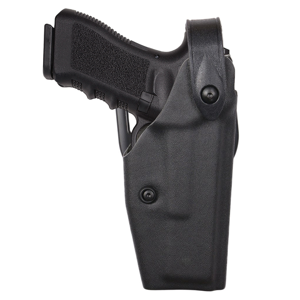 Safariland ミドルライド ヒップホルスター Glock17適合 右用 サファリランド G17 G22 右利き ロック付き SLS セルフロッキングシステム サムブレイク サバゲ― サバイバルゲーム サバゲー装備