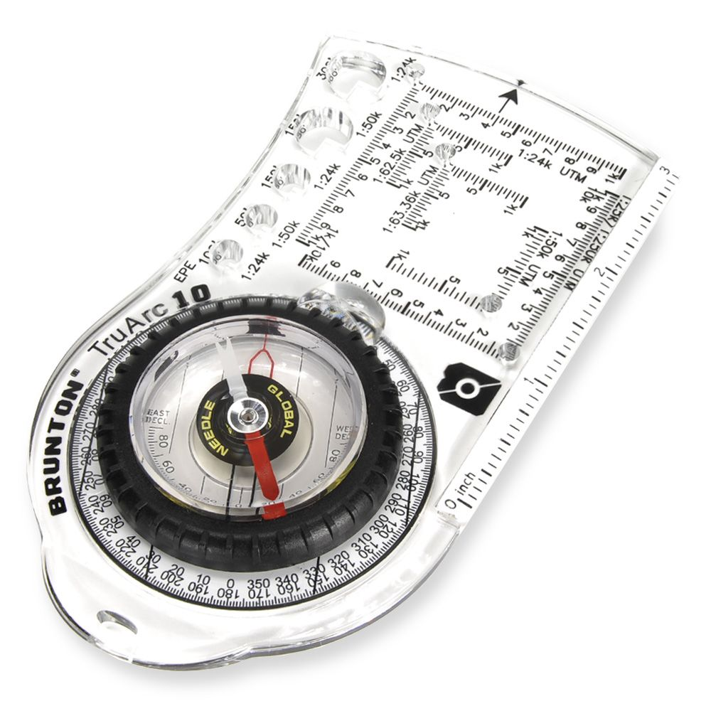 how to find a compass bearing