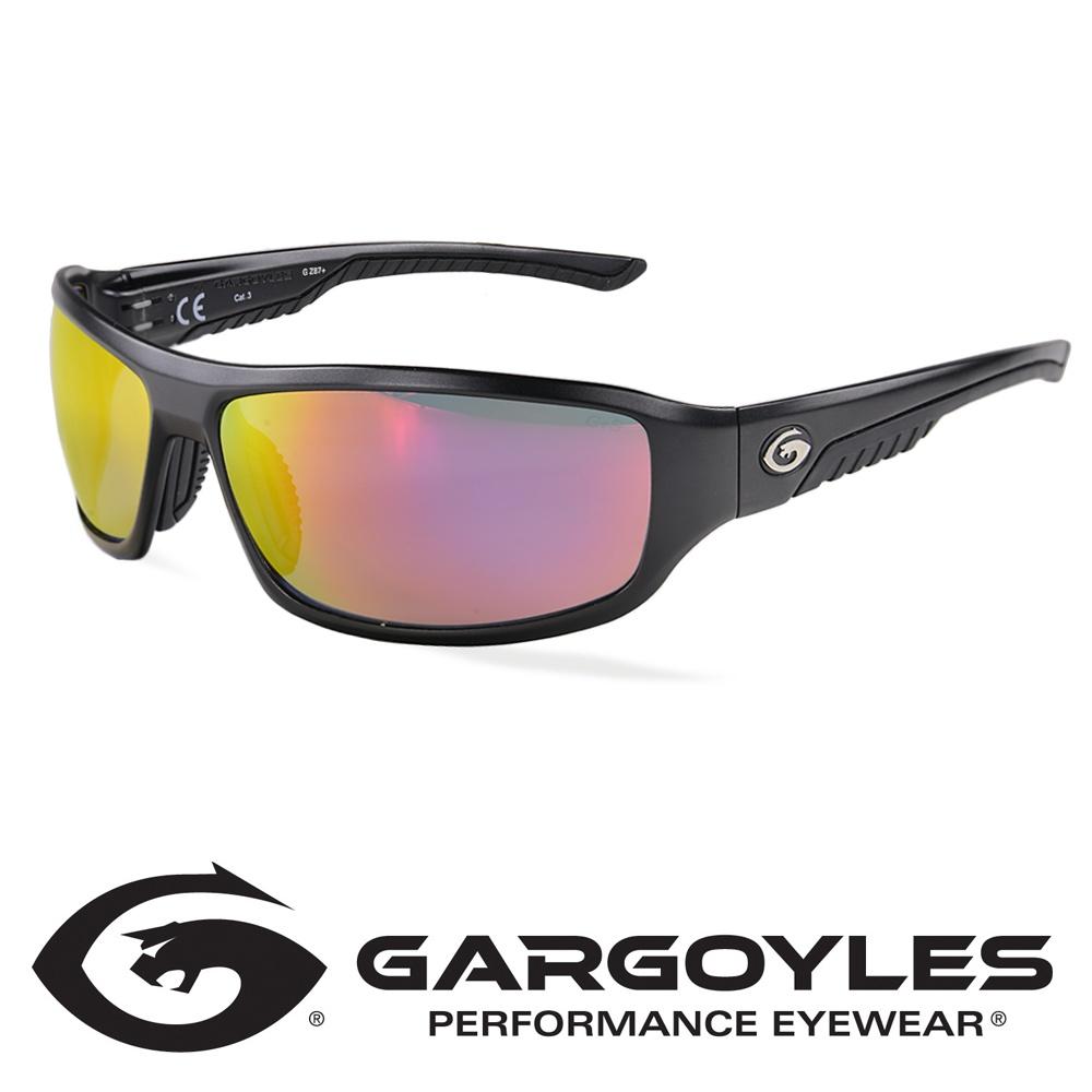 ガーゴイルズ 偏光サングラス プリヴェイル スモークミラー Gargoyles prevail 防弾 メンズ スポーツ 紫外線カット UVカット グラサン 運転 ドライブ バイク ツーリング サバゲー