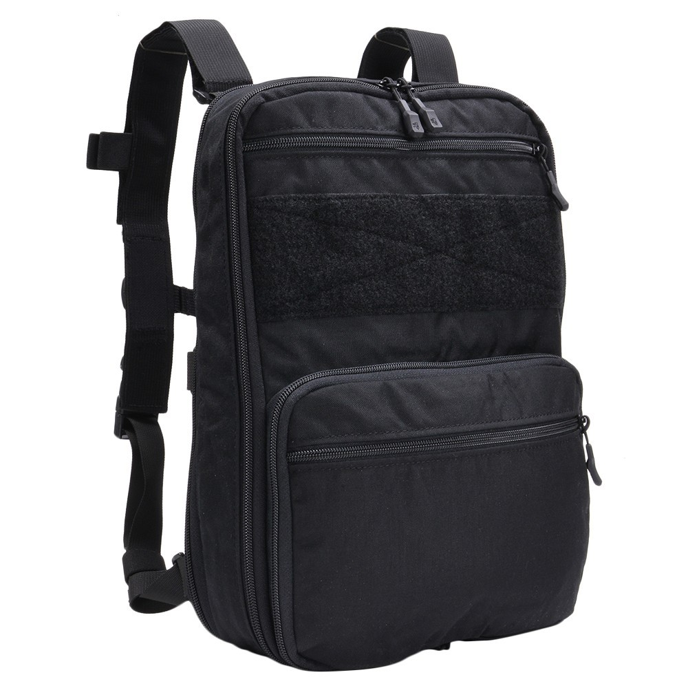 HALEY STRATEGIC フラットパック PLUS ベルクロインテリア [ ブラック ] ハーレー・ストラテジック バックパック リュック リュックサック ナップザック デイパック カバン かばん 鞄 ミリタリーグッズ サバゲー装備