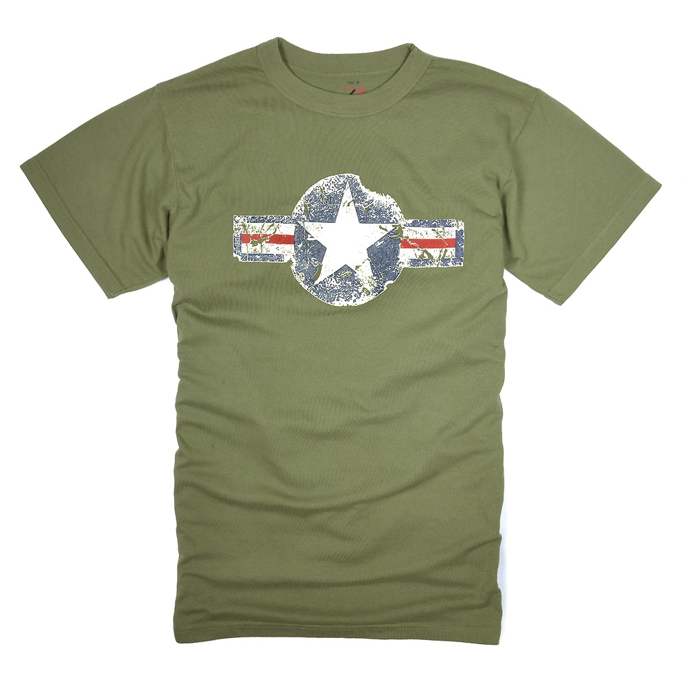 「Rothco Tシャツ 半袖 エアーコープ」 Rothco Tシャツ 半袖 エアーコープ [ オリーブドラブ / Lサイズ ] 半袖Tシャツ 軍服 戦闘服 BDU