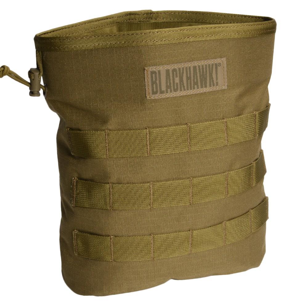 BLACKHAWK ダンプポーチ 37CL117 ロールアップ [ コヨーテタン ] ブラックホーク ROLL-UP DUMP POUCH フォールディング 使用済みマガジン回収