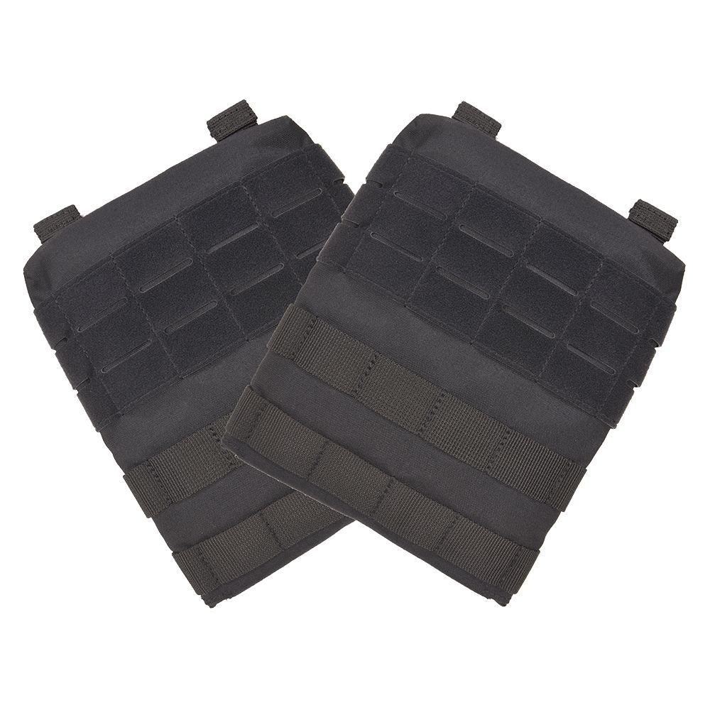 5.11タクティカル TAC TEC プレートキャリア用サイドパネル 2枚 [ ブラック ] 511Tactical ミリタリーグッズ ミリタリー用品 サバゲー装備