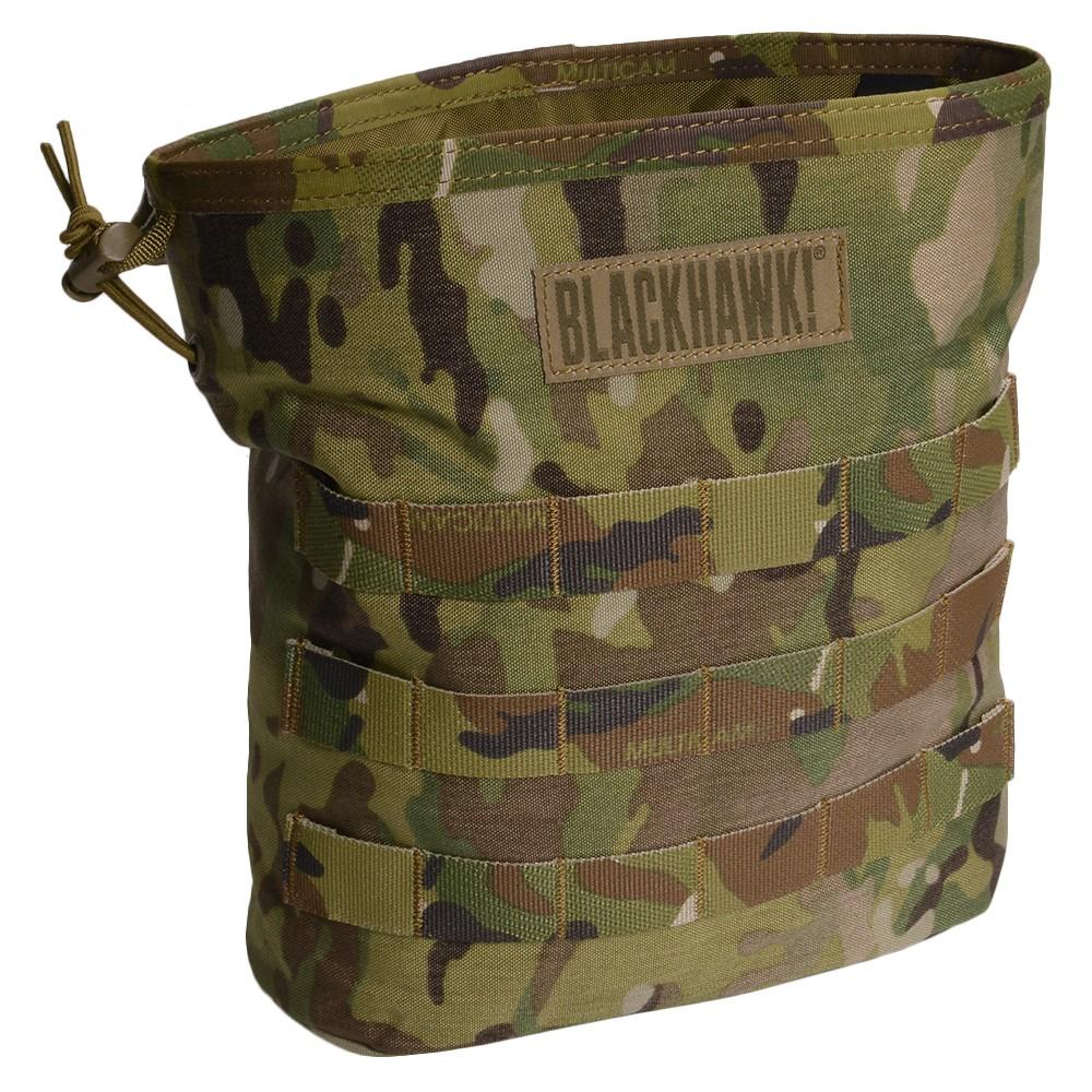 BLACKHAWK ダンプポーチ 37CL117 ロールアップ [ マルチカム ] ブラックホーク ROLL-UP DUMP POUCH フォールディング 使用済みマガジン回収