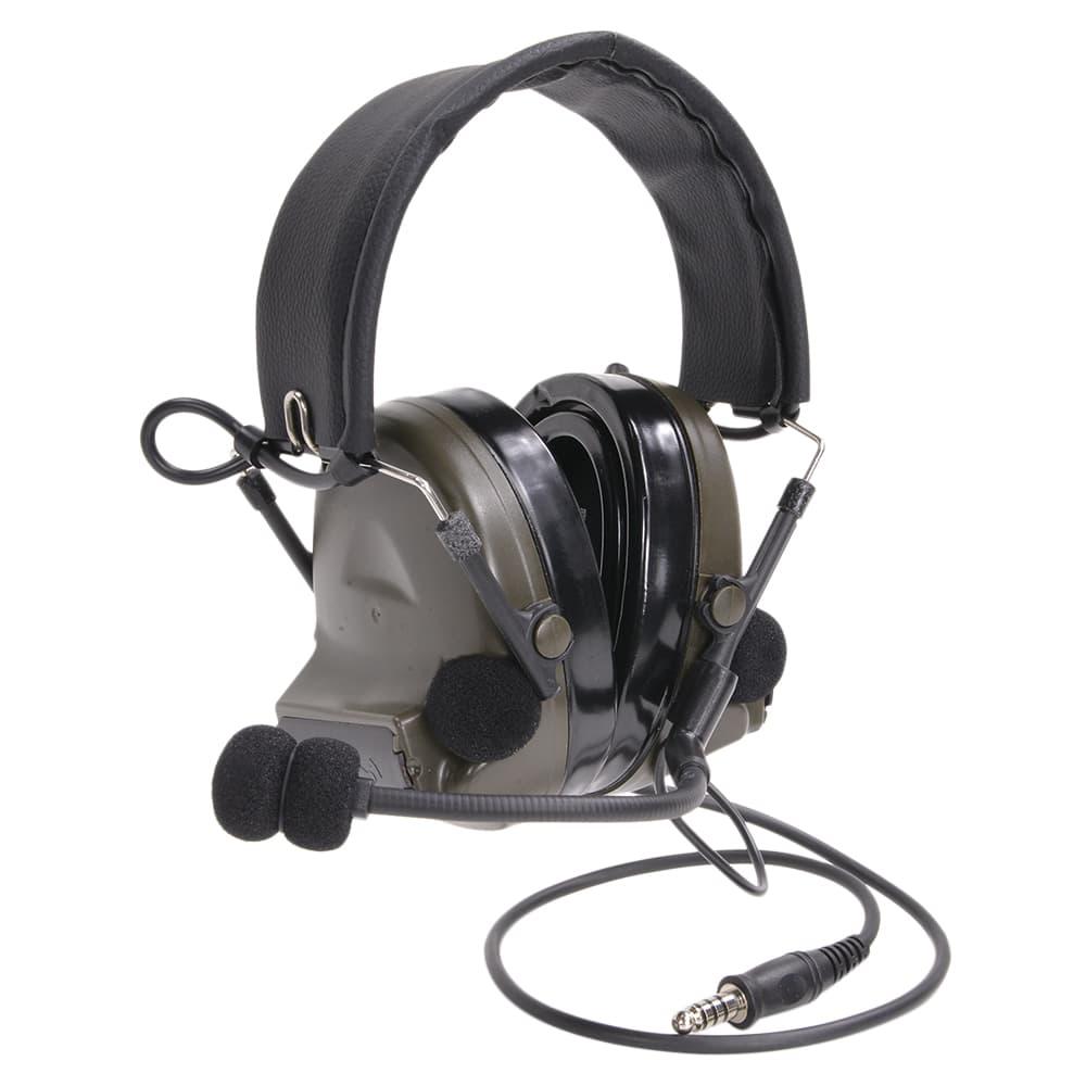 Z-Tactical タクティカルヘッドセット COMTAC II モデル HQ Z044 [ フォリアージュグリーン ] Z-TAC マイク付き イヤーマフ 耳当て ヘッドフォン NAVY SEAL SWAT RANGER