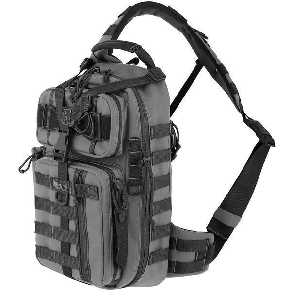 MAXPEDITION スリングバッグ Sitka Gearslinger [ デイパック ウルフグレー ] MAXPEDITION 斜めかけ [ ワンショルダー デイパック カバン かばん 鞄 ミリタリー ミリタリーグッズ サバゲー装備, 欧都香ぴーなっつ:5fb60cd7 --- sunward.msk.ru