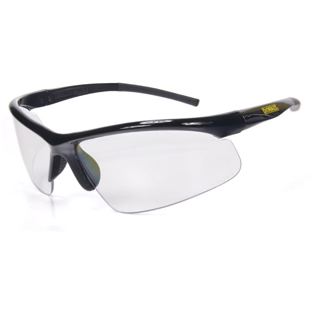 米国の工具メーカーDEWALT デウォルト のセーフティグラス 保護メガネ です視覚 海外輸入 耐衝撃性能はもちろんUVカット率99.9%と優れた紫外線対策能力を備えています DEWALT セーフティグラス 爆売り ラディウス クリア セーフティーグラス 曇り止め 保護眼鏡 透明 アイウェア UVカット 作業用メガネ 紫外線カット メンズ 保護めがね サングラス 安全メガネ