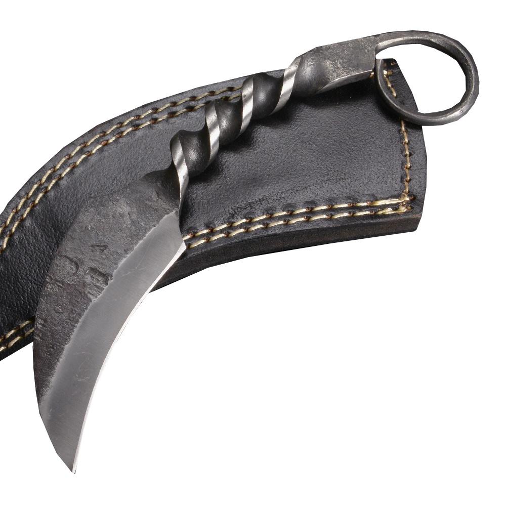 カランビットナイフ 鍛造 ツイストハンドル EMS 救助 消防 折り畳みナイフ 折畳みナイフ フォルダー フォールディングナイフ ホールディングナイフ ツールナイフ