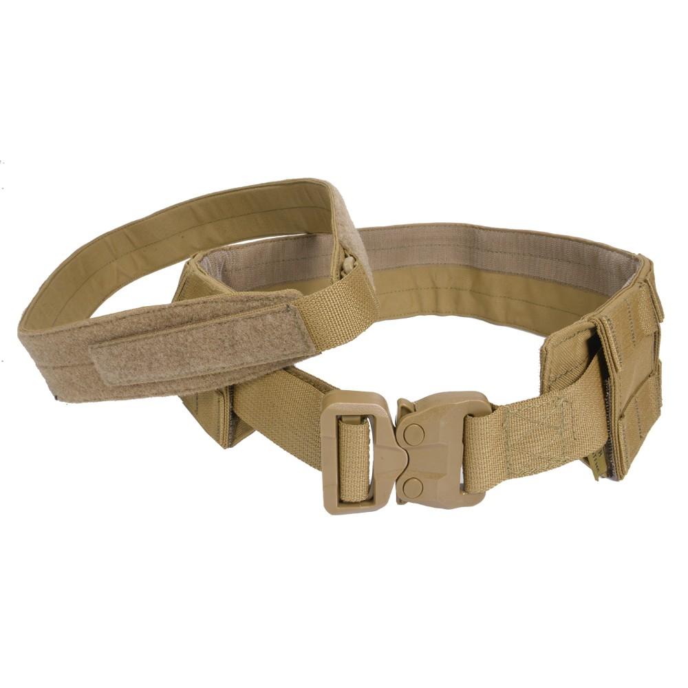 WARRIOR ASSAULT SYSTEMS 実物 ロープロファイル MOLLEベルト 3点セット [ コヨーテタン / Mサイズ ] ウォリアー アサルト システムズ サバゲー サバゲー装備 Low Profile Belt with Cobra belt
