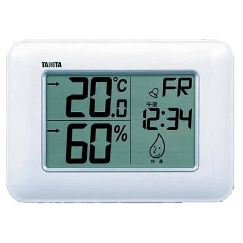 TANITA(타니타) 시계부착 디지털온습도계 TT-530-WH(화이트)