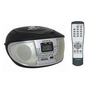 WINTECH 리모콘부착 MP3 대응 USB/SD/CD라디오 KC-150 USB