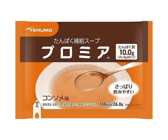 介護・医療用品 食事 テルモ 補給スープ プロミア コンソメ味 30包入り  4987350619334