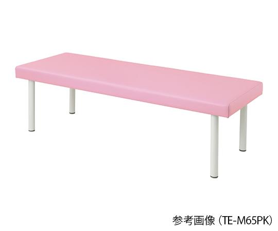 介護 高い素材 医療用品 ベッド関連 カラフル診察台 物品 ピンク 4589638302008 ベッド高さ500mm