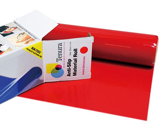 Tenura 滑り止めシート(40cm×2m)赤 T/R8 生活支援用品  4589638294785