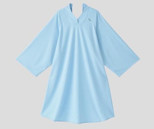 抗菌消臭オーバーシャツ(吸汗速乾タイプ)フリーサイズ サックス 4580110268133