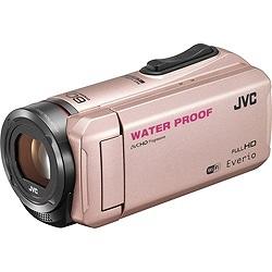 【送料無料】JVC フルハイビジョンビデオカメラ GZ-RX500-N GZRX500N ピンクゴールド