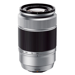 富士フィルム Xマウントズームレンズ フジノンレンズ XC50-230mmF4.5-6.7 OIS II シルバー