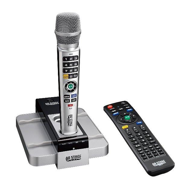 オン・ステージ パーソナルカラオケ PK-XA03W(S) デジタルワイヤレスタイプ