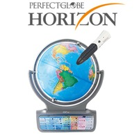ドウシシャ しゃべる地球儀 パーフェクトグローブ HORIZON ホライズン PG-HR14【入学・卒業祝いに】