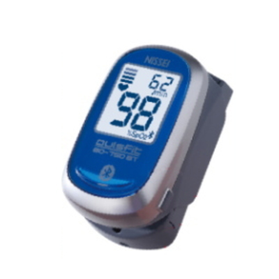 パルスオキシメーター 日本製 日本精密測器(NISSEI) BO-750BT Bluetooth機能搭載 指先クリップ型