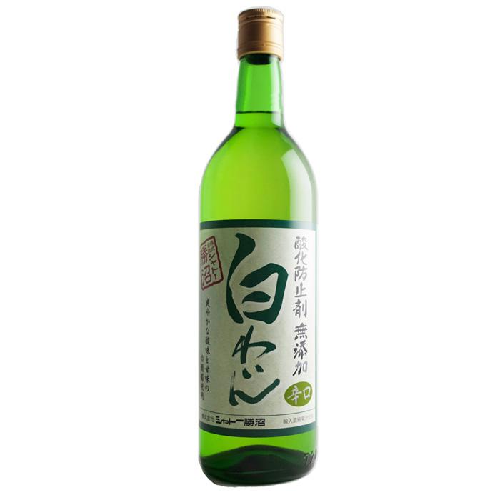 シャトー勝沼 CH勝沼 大決算セール 無添加 白ワイン 720ml 国産ワイン 2020春夏新作 辛口
