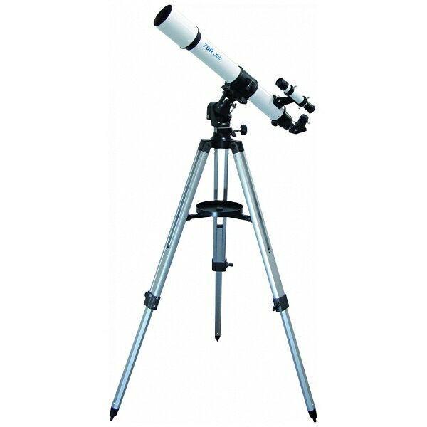 【取寄せ商品】ミザール(MIZAR)高剛性K型微動マウント搭載モデル 天体望遠鏡70mm 35~264倍 MT-70R