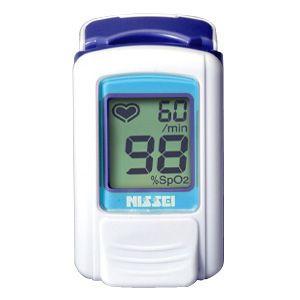 日本精密測器(NISSEI) 指先クリップ型パルスオキシメータ パルスフィット BO-600(アジュールブルー)